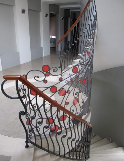architectural metal stairs