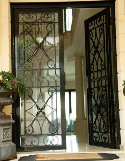 architectural metalwork door