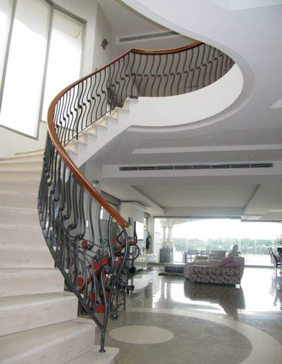 architectural metalwork stairs