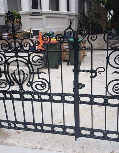 beautiful driveway gates