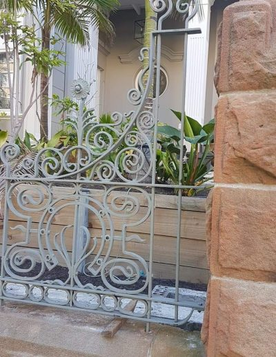 beautiful front fence